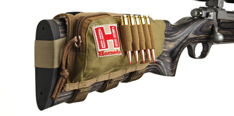 Hornady - Rifle Cheek Piece with Shell Holder, Right- Hand, Tan